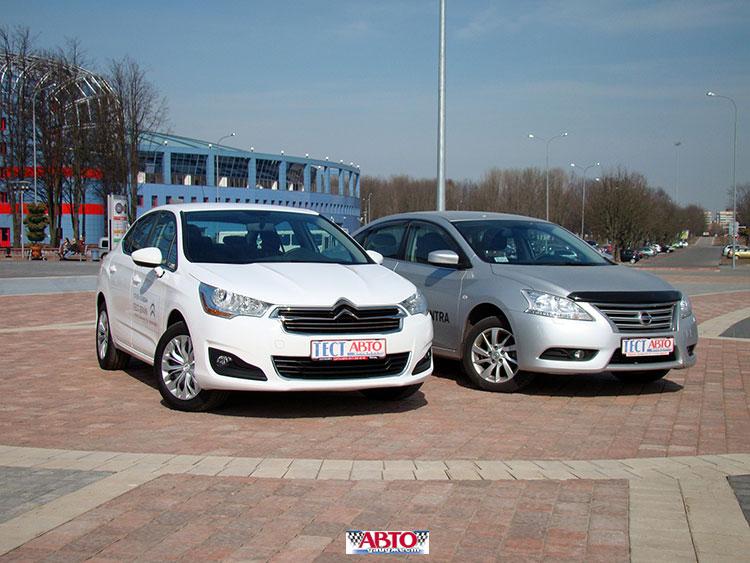 Citroen C4 Sedan и Nissan Sentra: из России с любовью?