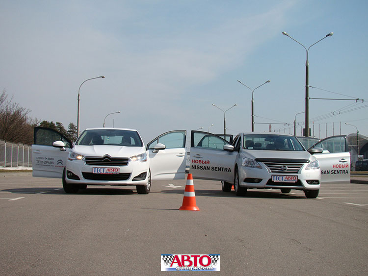 Citroen C4 Sedan и Nissan Sentra