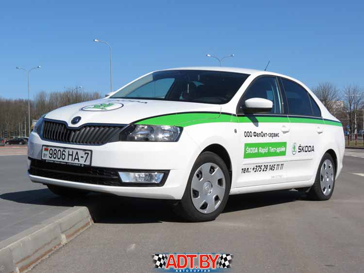 Сравнительный тест Peugeot 301 и Skoda Rapid