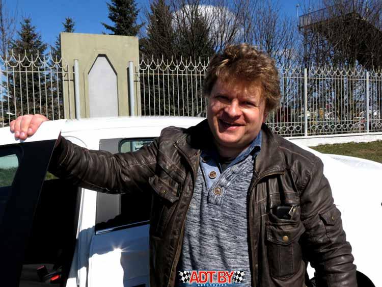 Алексей Филоненко, участник чемпионата Беларуси по ралли