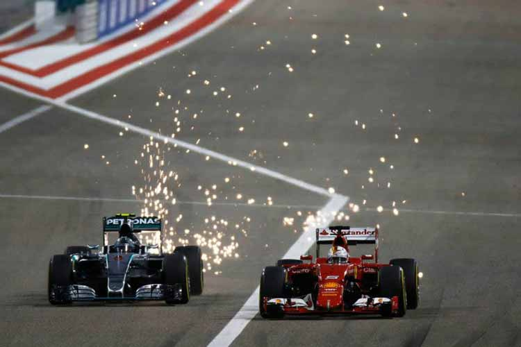 """Формула-1"". Гран-при Бахрейна. Кими ""разбивает"" пару Mercedes."