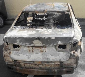 Столичный таксист организовал кражу и уничтожение своего автомобиля ради страховки
