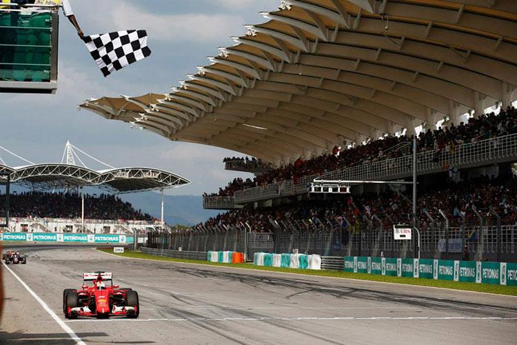 Первая победа Ferrari после долгого перерыва