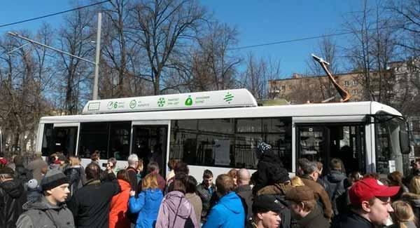 Москве представлен электробус второго поколения производства КАМАЗ и Drive Electro