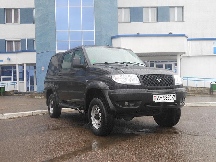 Автомобили на природном газе, УАЗ