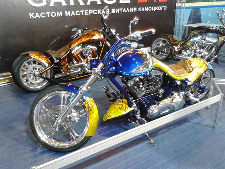 Мотоциклы В.Камоцкого