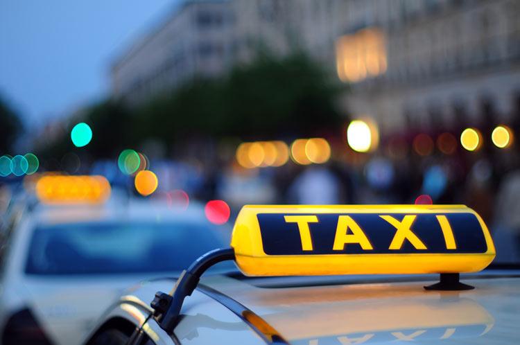 Если новый автомобиль работает в такси