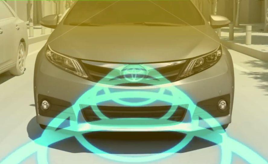 Тойоты получат доступную систему предотвращения столкновений