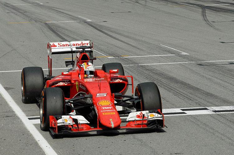 Формула 1 Себастьян Феттель