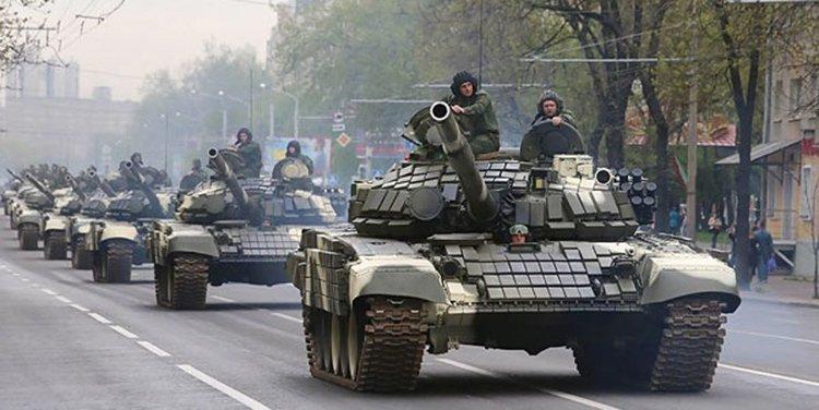 Более 300 единиц техники будут участвовать в параде 3 июля