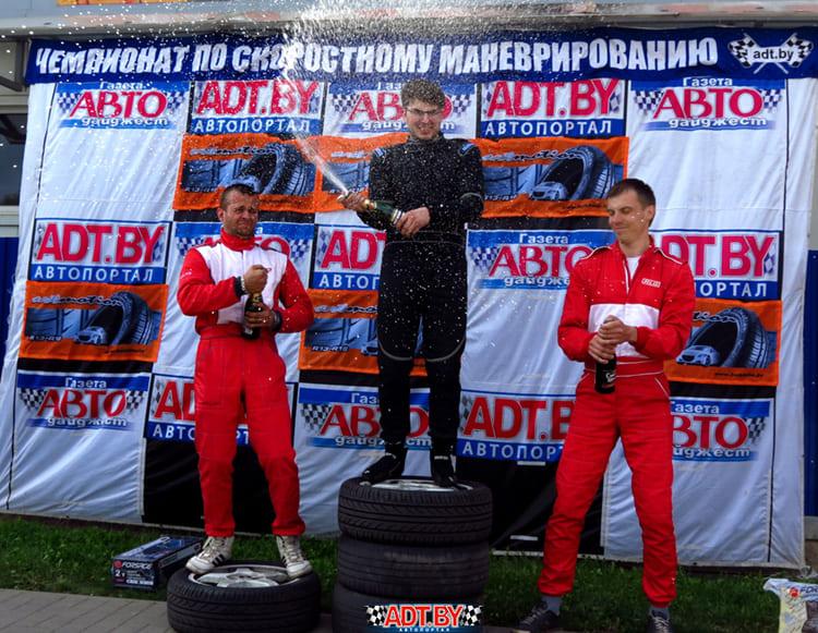 Победный дубль команды «Белшина» на этапе чемпионата в Солигорске!