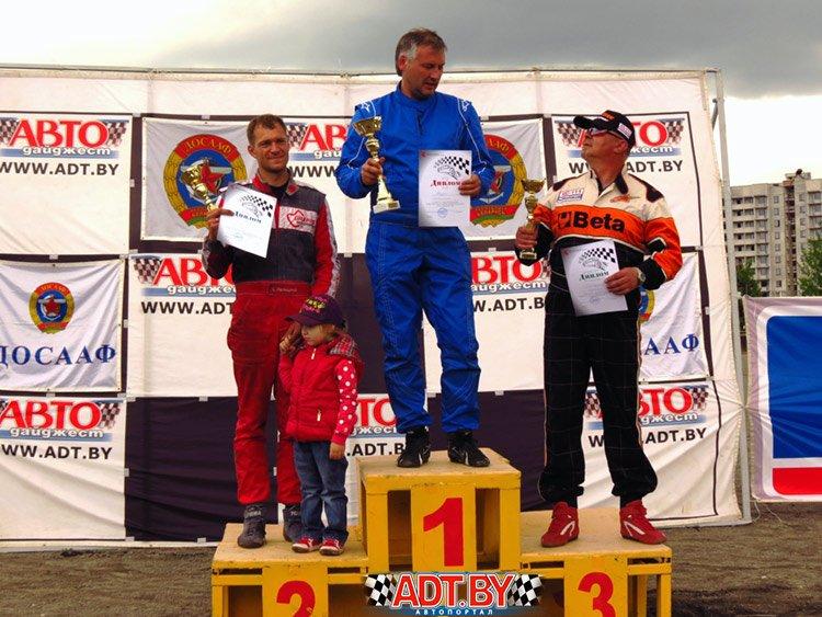 Победа Андрея Остапенко на 1-ом этапе Кубка Беларуси по треку