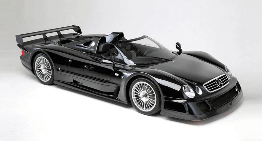 Mercedes-Benz CLK GTR 1999 года выпуска будет выставлен на торги
