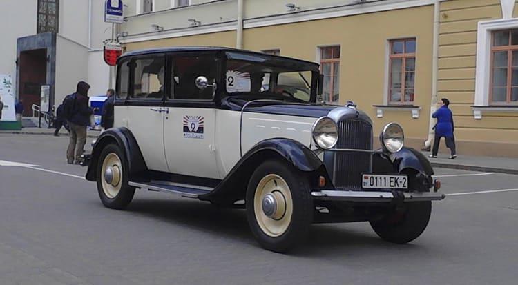 """Семейный автомобиль Овчиниковых Citroen AC-4 """"Grand Lux"""""""