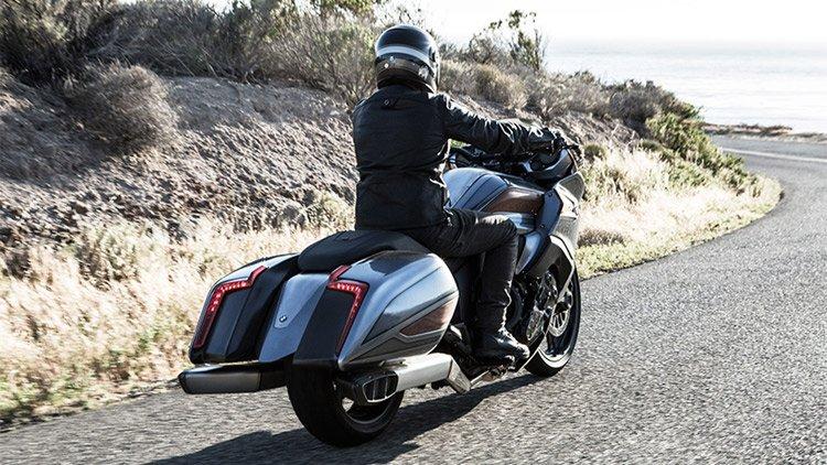 Концептуальный мотоцикл от BMW - воплощение роскоши