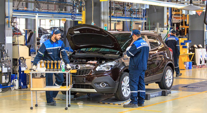 На «Юнисоне» выпустили Opel Mokka. Следующий – Cadillac
