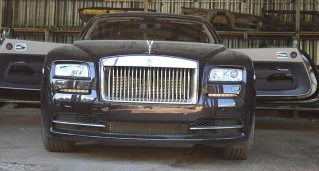 В автоконфискате Минска будет выставлен Rolls-Royce Wraith