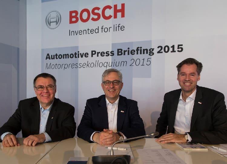 Топ-менеджеры  Bosch довольны результатами компании
