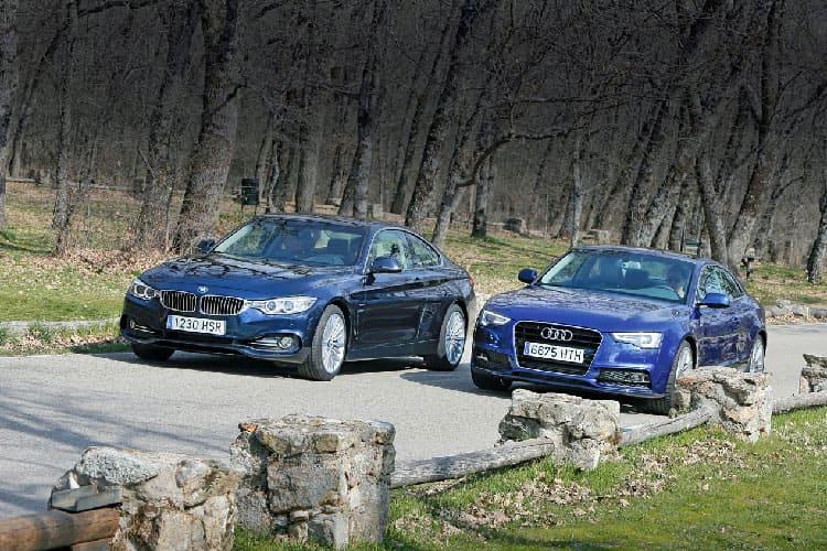AUDI A5 COUPE VS BMW-4 COUPE: Баварский спор