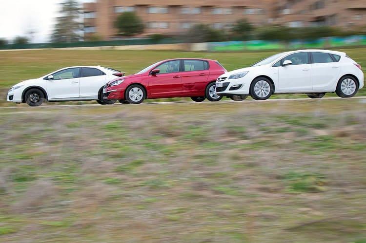 Honda Civic, Opel Astra и Peugeot 308: покорители Европы