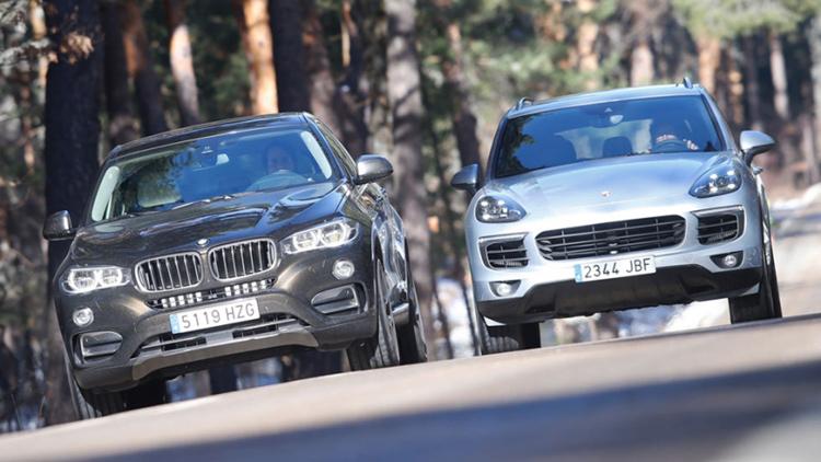 BMW X5 и Porsche Cayenne в битве за титул лучшего спорткроссовера