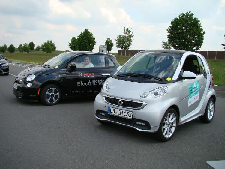 Двигатели электрических модификаций Smart и Fiat 500 разработаны Bosch