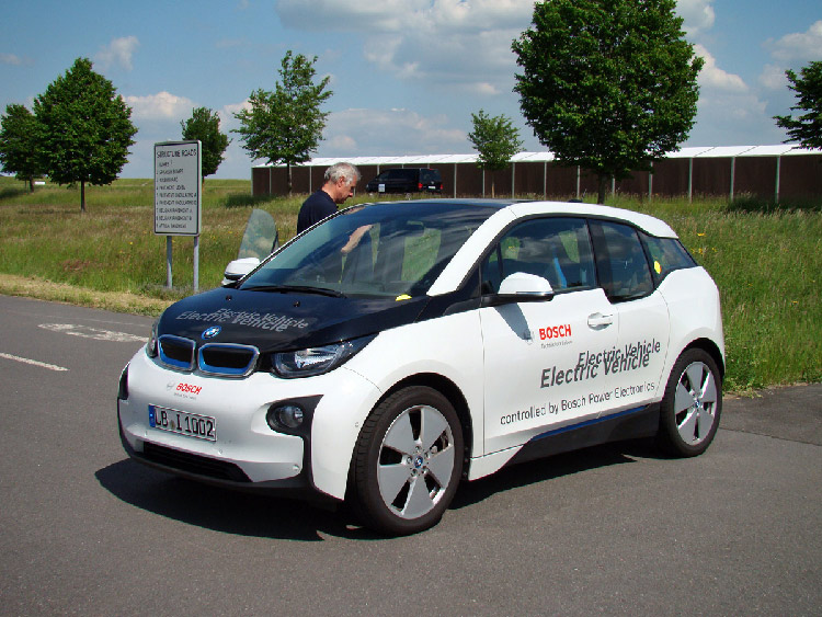 Силовой электрикой Bosch оснащается как электрохэтчбек BMW i3,...