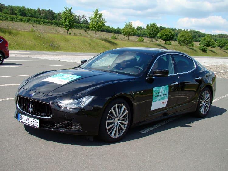 В 275-сильном дизельном моторе Maserati Ghibli используется впрыск Bosch