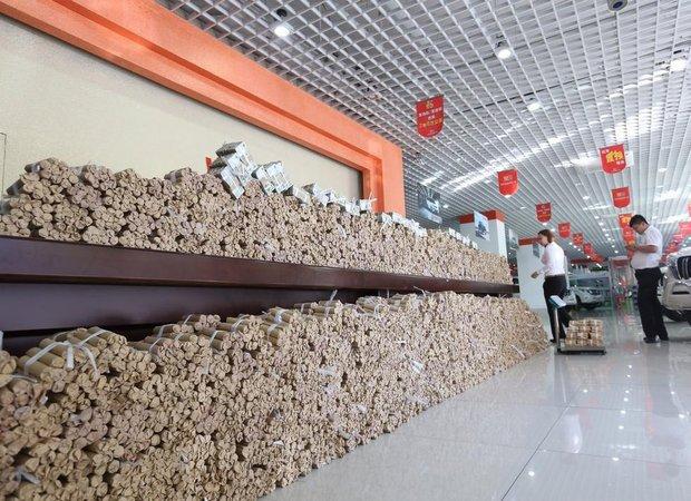 4 тоннами монет номиналом в 1 юань оплатил китаец покупку Toyota