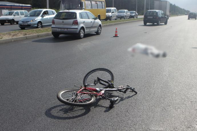 Под Брестом в ДТП погиб молодой велосипедист