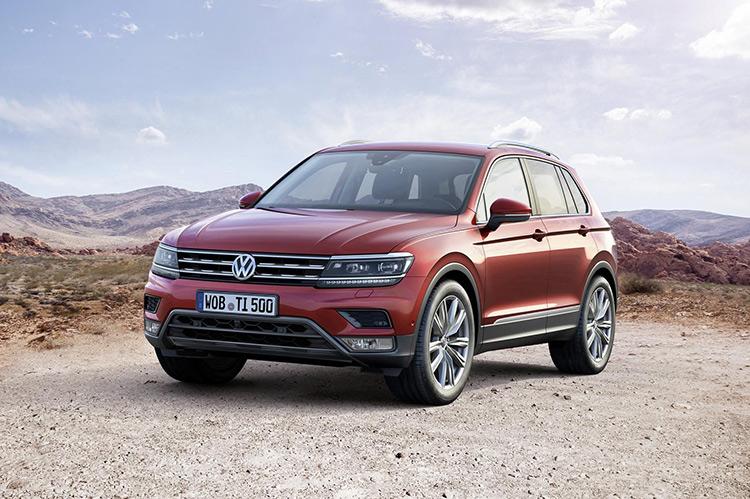 VW Tiguan повзрослел
