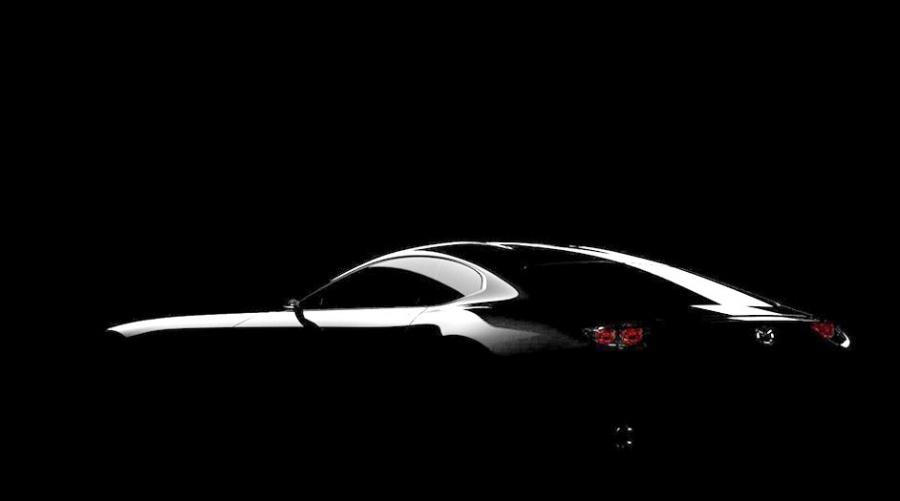 Mazda рассекретила первый тизер нового концептуального спорткара