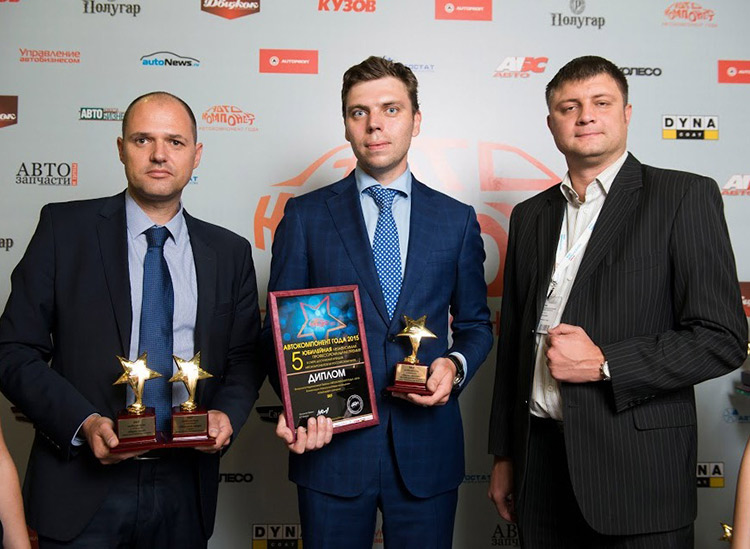 Поздравляем SKF с победой в российском конкурсе «Автокомпонент года»