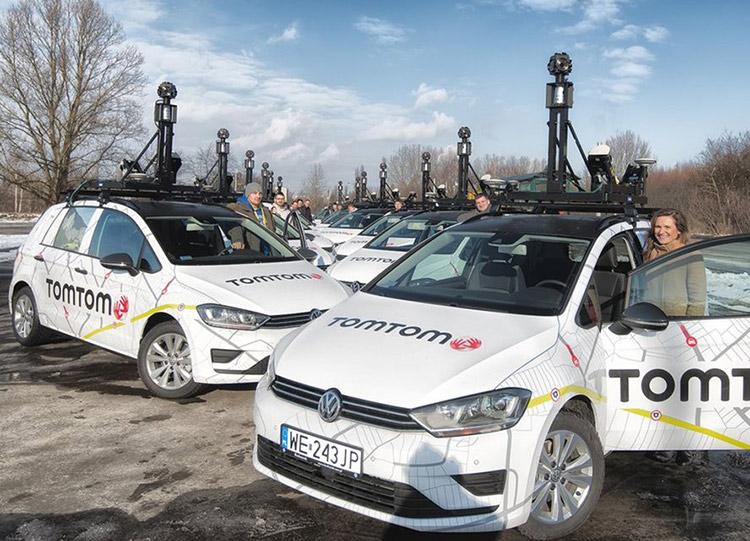 Bosch и TomTom разрабатывают карты для систем автономного вождения
