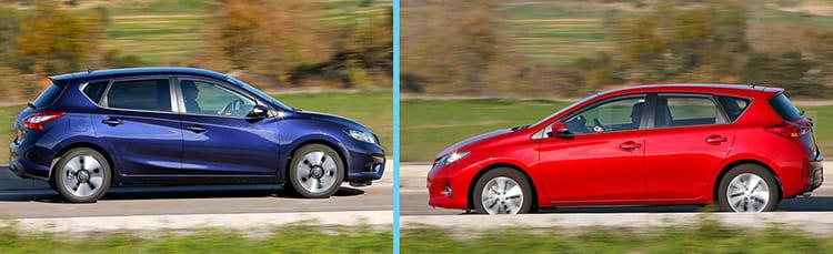 """Nissan Pulsar и Toyota Auris: японские """"гольфисты"""""""