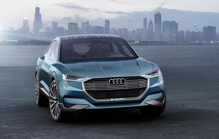 Audi создал кроссовер с солнечной батареей на крыше