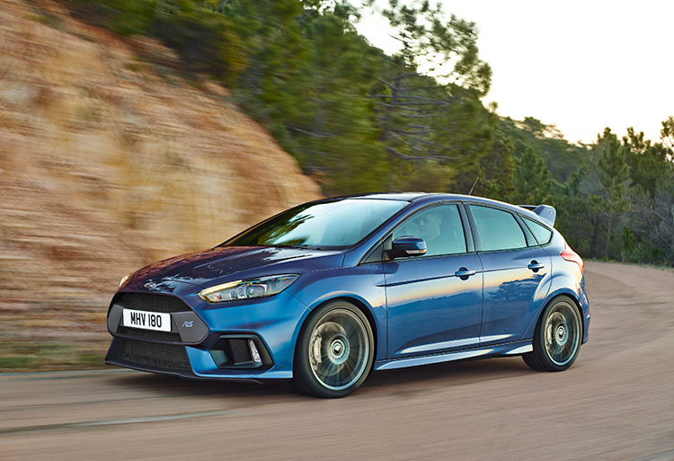 Новый Ford Focus RS выехал из пяти секунд