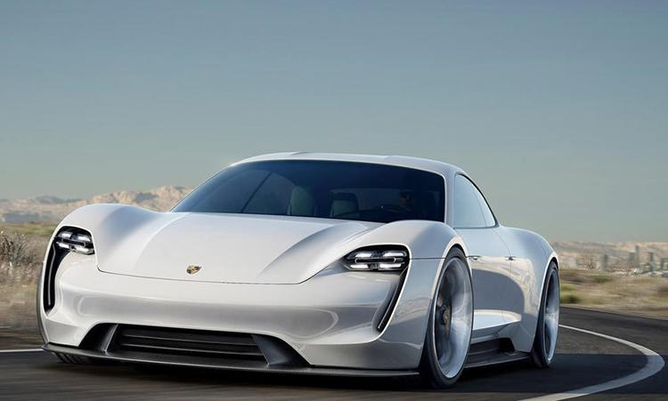 Porsche во Франкфурте представил электрический суперкар