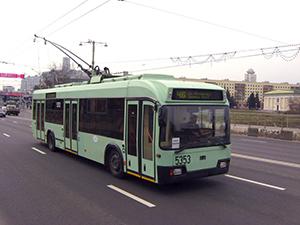 На выходных на улице Богдановича перекроют движение троллейбусов