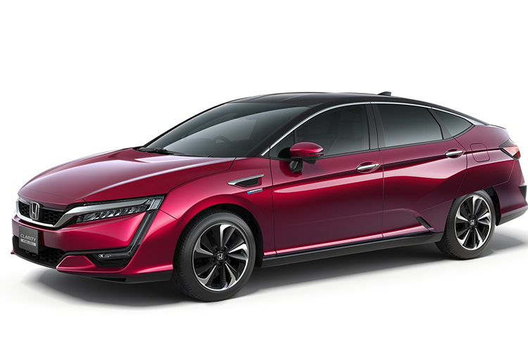 Honda оседлала водород