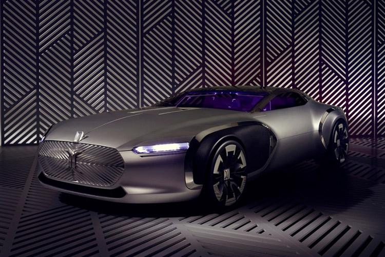 Renault представляет концепт-кар Coupe Corbusier