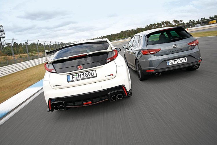 Honda Civic Type R и Seat Cupra: короли Нюрбургринга