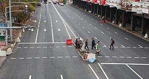 Возле ТД «На Немиге» ликвидируют парковку