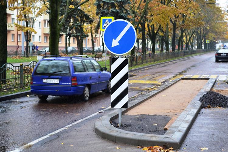 На бульваре Шевченко оборудованы островки безопасности