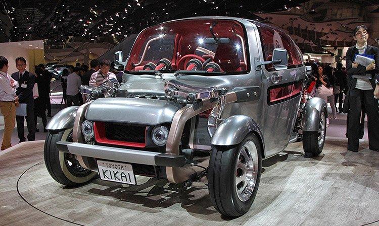 Toyota и ее необычный Kikai