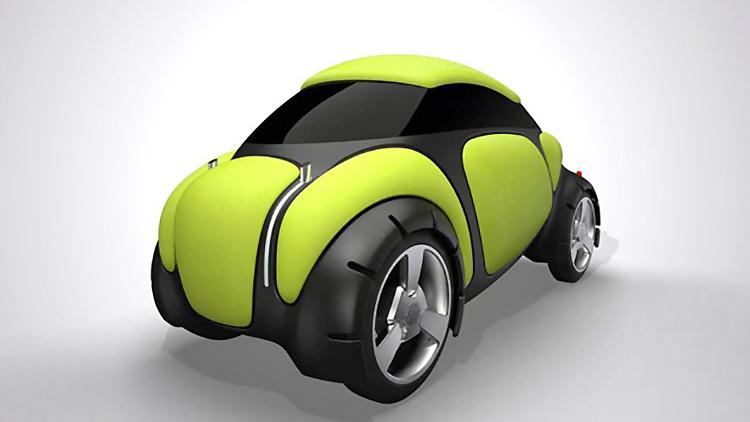 На Токийском автосалоне Toyota представит автомобиль из подушек безопасности