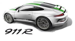 Porsche 911 R раскупили еще до официальной презентации