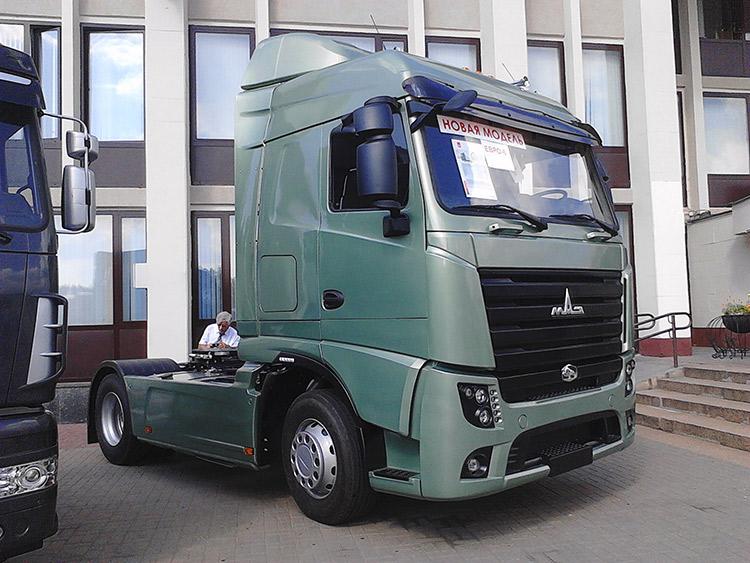 МАЗы Евро-6