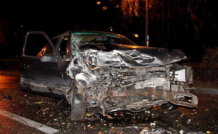 В Гродно виновник массовой аварии сбежал вместе с пассажиром
