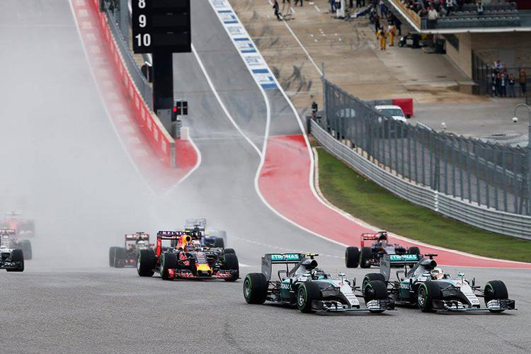 """""""Формула-1"""". Гран-при США. Американские горки"""